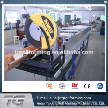 Gear drive automatic Roll Forming Seamless Gutter Machine High Speed Chain Transmission 16 Stations with CE certificate