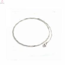 """Neue Modell 1,8 mm Breite 20 """"Länge Edelstahl Melone Samen Kette Halskette, weibliche Halskette"""