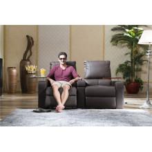 Sofá elétrico reclinável EUA L & P sofá do mecanismo para baixo do sofá (800 #)