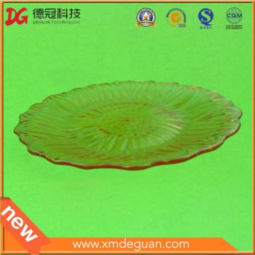 Kundenspezifische gute Qualitätsnahrungsmittel-Frucht-Plastikplatte offene Form nur