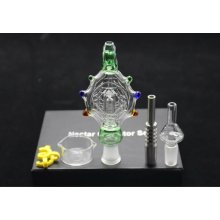 14mm Joint Titanium Nail Smoking Kit Nectar Collector Glass Water Pipes