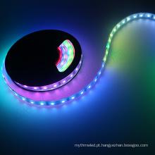 Correia flexível do diodo emissor de luz do RGB do controle digital do dmx de Digitas da cor completa acessível 5050 LPD8806