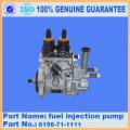 6156-71-1110 bomba de inyección de combustible komatsu 6156-71-1112