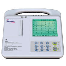 6-channel Digital ECG Machine, Electrocardiograph with Measure and Interpretation for HospitalNew