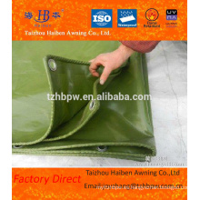 100% poliéster Impermeable Impermeable Anti-uc PVC recubierto Tarpaulin Fabricante