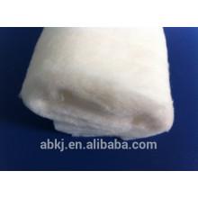 100% organic cotton wadding /interlining (provide organic certificate)