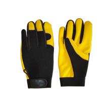 Deer Skin Leather Palm Mechanic Work Glove-7309