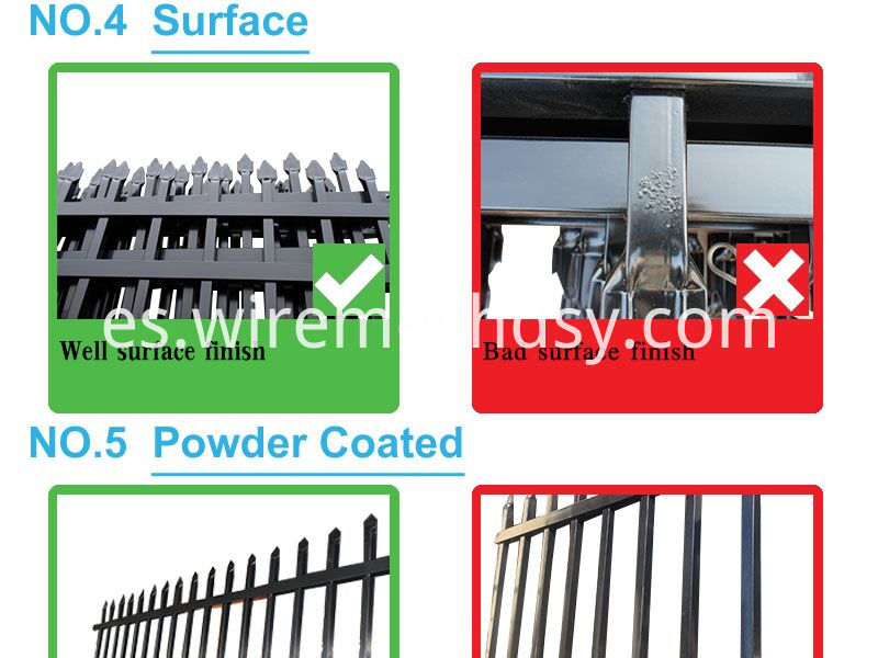 New Style Wrought Barrier