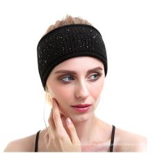 PK18A17HX Frauen stricken Stirnband Yog Wolle Kaschmir Headwear