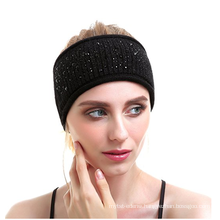 PK18A17HX Women Knit Headband Yog Wool Cashmere Headwear
