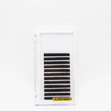 12 Lines 0.05mm Thickness C Curl Standard 8mm Faux Eyelash for Lash Extension
