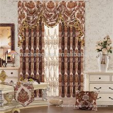Double layer design sun shade protection curtain
