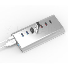 7-Port USB 3.0 Data HUB with Charging