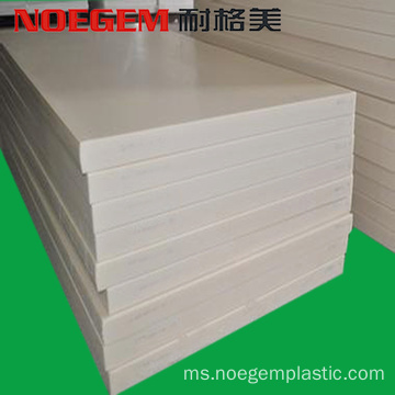 Beige ESD delrin / acetal plate antistatic sheet