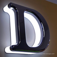 Реклама с подсветкой, светодиодные буквы для фасадных вывесок магазин