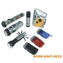 Alle Arten von Taschenlampe mit unterschiedlicher Stromversorgung (DFOD-007 ~ 0012)
