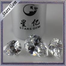 Brilliant Fire Pearlescent Pear Diamond Cut Cubic Zirconia Gemstone