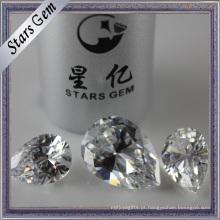 Brilhante Fogo Pearlescent Pear Diamond Cut Cubic Zirconia Pedra Preciosa
