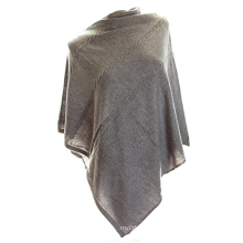 PK18A07HX 100% Cashmere Poncho Sweater Women