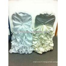 chaise de Chiavari ruffle couvre pour les mariages, les housses de chaises pour les mariages à volants
