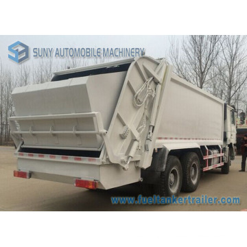 20m3 6*4 Shacman 3axles Comperssion Garbage Truck