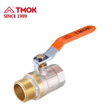 Female Male Brass ball valve with brass ball PTFE good quality for water in TMOK