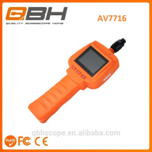 Size Length customized analog flexible scope camera with 2.4 display screen