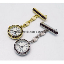 2017 Fashion Metallic Nurse Circle Watch for Promotion Gift