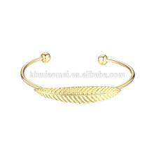 pulsera de acero inoxidable al por mayor 18k oro pulseras mujeres OEM de la joyería