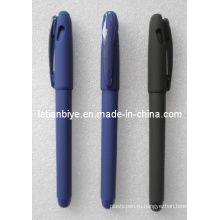 Резиновые гелевая ручка Промотирования с печатью Логоса (ЛТ-C221)