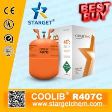 Refrigerante de alta pureza R407c mejor precio