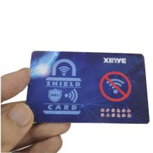 Carte de blocage RFID Carte de protection RFID NFC Blocker