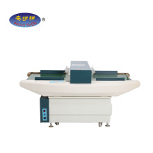Wide tunnel needle metal detector for garment