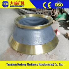 China Manufacturer High Manganese Cone Crusher Parts