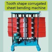 Máquina de dobra da folha ondulada da forma do dente de China