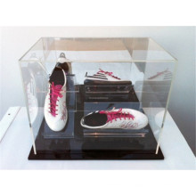 Ursprüngliche Schuhe Einzelverkaufsspeicher-einzelne Paar-laufende Schuhe Kleine freie Acrylwürfel-Anzeigen-Kästen