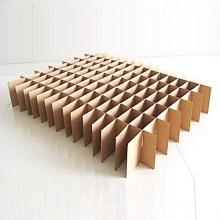 Caixa de papelão ondulado, pegue a caixa para mover