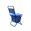 Manufacture high quality folding fitness stool portable metal chair with cooler chair