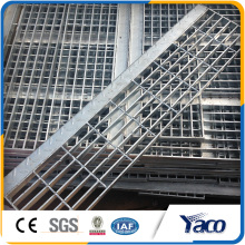 Metallstab-Boden-Stahlgitter vom Metallbaumaterial-Hersteller 30mm Neigung 5mm Stärke flacher Stab