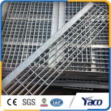 Grating de aço do assoalho da barra de metal do fabricante dos materiais de construção do metal barra lisa da espessura do passo 5mm de 30mm