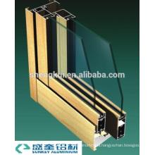 Anodize Gold B73 Sliding Windows Aluminum Profiles Aluminum Extrusions