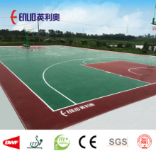 Enlio Outdoor Vinyl Flooring Dengan FIBA ​​Test