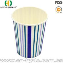 Tasse jetable sans couvercle et tasse de papier de café