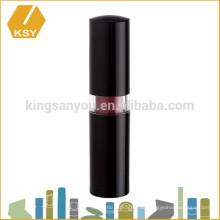 maquillaje fábrica lápiz de labios vacío plástico cosmético de lujo de embalaje