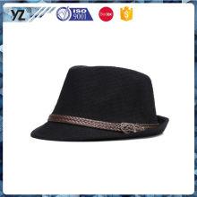 Main product long lasting men homburg hats for wholesale