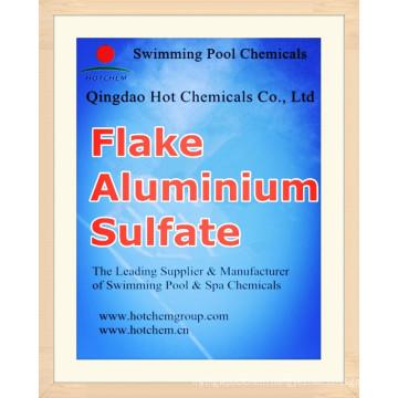Flocculant Aluminium Sulfate Flake CAS 10043-01-3 China ...
