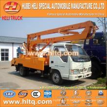 FOTON 4x2 HLQ5073GJKB camion avec plate-forme aérienne 10M prix bon marché vente chaude à vendre