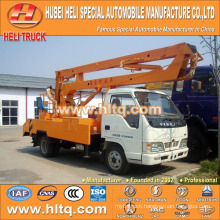 FOTON 4x2 HLQ5073GJKB vehicle mounted aerial work platform 10M cheap price hot sale for sale