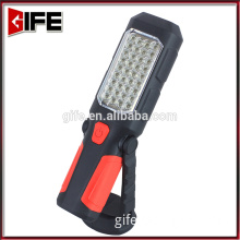 GF-7007 3AA Battery 36+1LED Rollover fold work lamp flashlight light with a hook and magnet work lamp