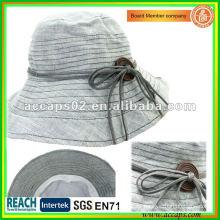 Sombreros 2013 de la manera de la raya de señora Summer BH1265